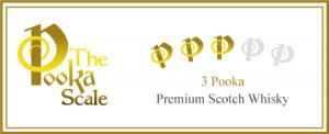 Three Pooka Scotch Whisky