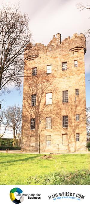 Clackmannanshire Scotch Whisky Event - Alloa Tower- Scotland 2015 - Haig Whisky