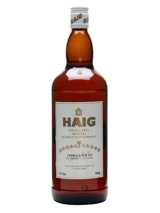 Haig Gold Label / Large Bottle Blended Scotch Whisky