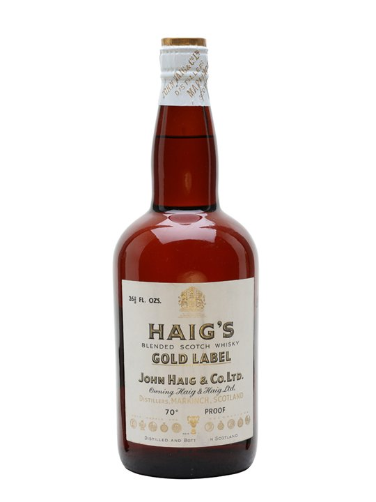 Haig's Gold Label / Bot.1950s / Spring Cap Blended Scotch Whisky