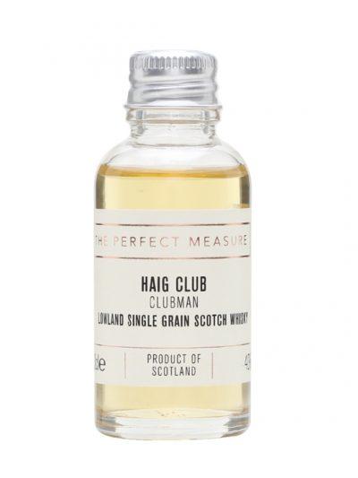 Haig Club Clubman Sample Lowland Single Grain Scotch Whisky