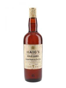 Haig Gold Label / Bot.1960s / Spring Cap Blended Scotch Whisky