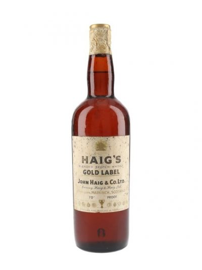 Haig Gold Label / Bot.1960s / Spring Cap Blended Scotch Whisky