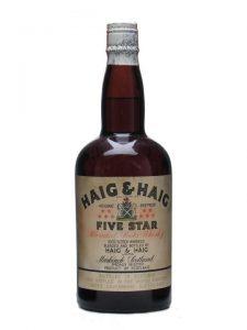 Haig & Haig Five Star / Bot.1950s / Spring Cap Blended Scotch Whisky