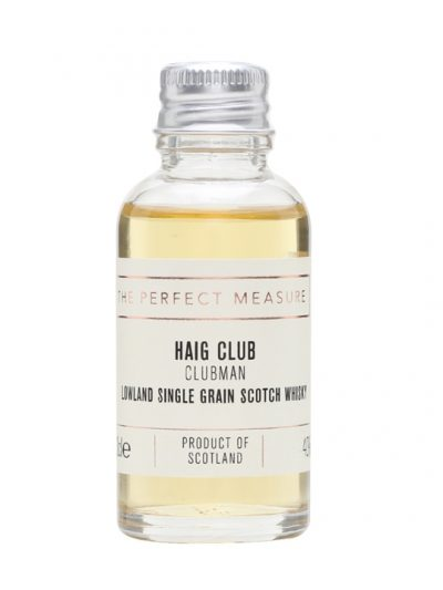 Haig Club Clubman Sample Lowland Single Grain Scotch Whisky